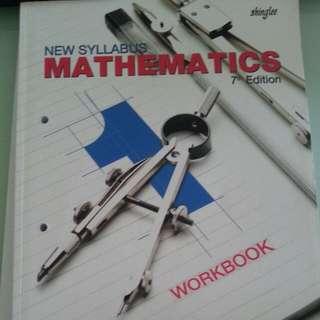 Shinglee Mathematics 7th edition Secondary 1 Workbook