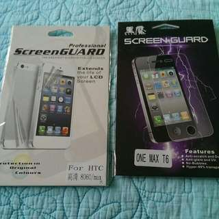 HTC One Max Screen Protector