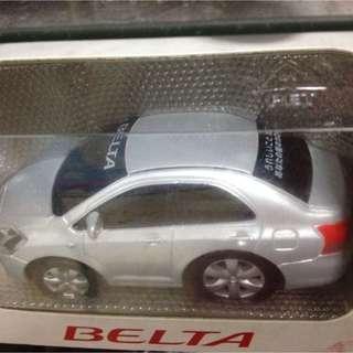 Authentic Toyota Vios Belta Model