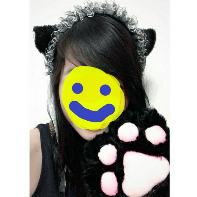 Cute Cat Cosplay Set (Chobits )