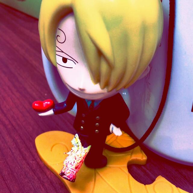 Modified Sanji With Fire Kick Toys Games On Carousell