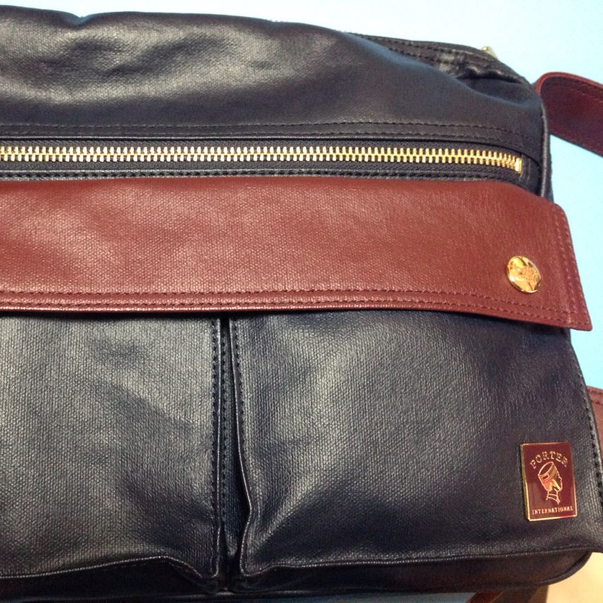 Porter Messenger Bag Jingle Edition..