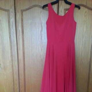 Long Dress  (Red)