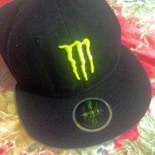 Monster Baseball Cap Sz 7 1/4