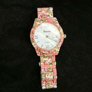 Floral Geneva Watches