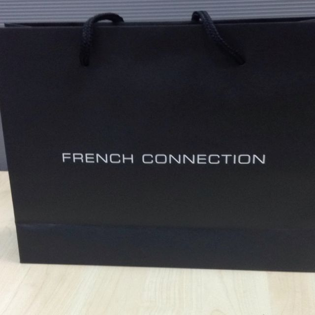 French Connection Small Paper Bag