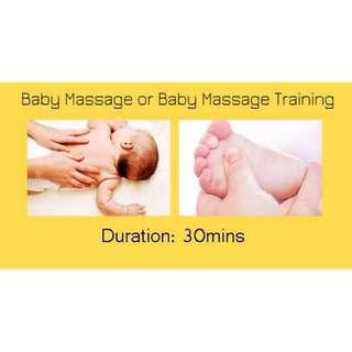 Baby Massage / Baby Massage Training