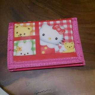 Cartoon Wallet - Hello Kitty