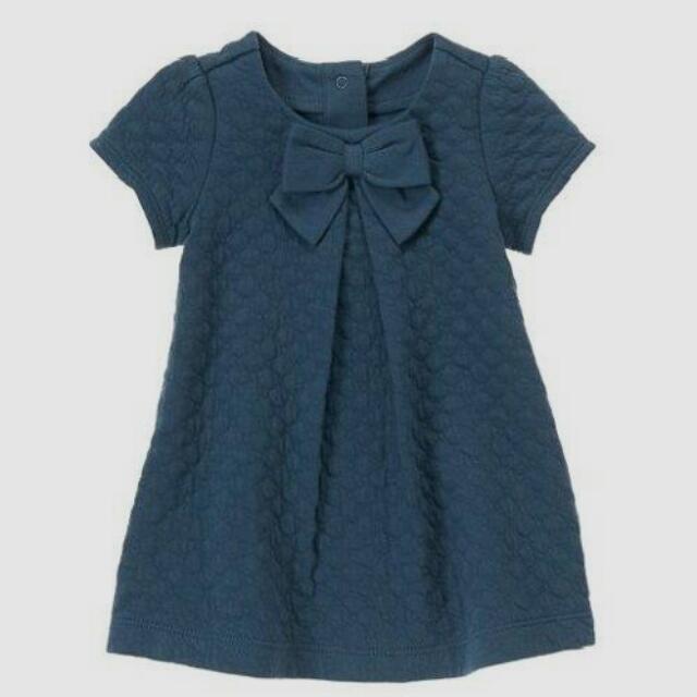 BN Size 12-18m Gymboree Quilted Bow Dress For Kid Girl - Pkgymboree Pkgirl