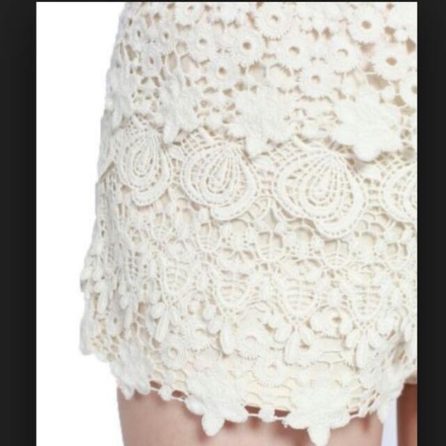 (Pending) Love Bonito Crochet Shorts