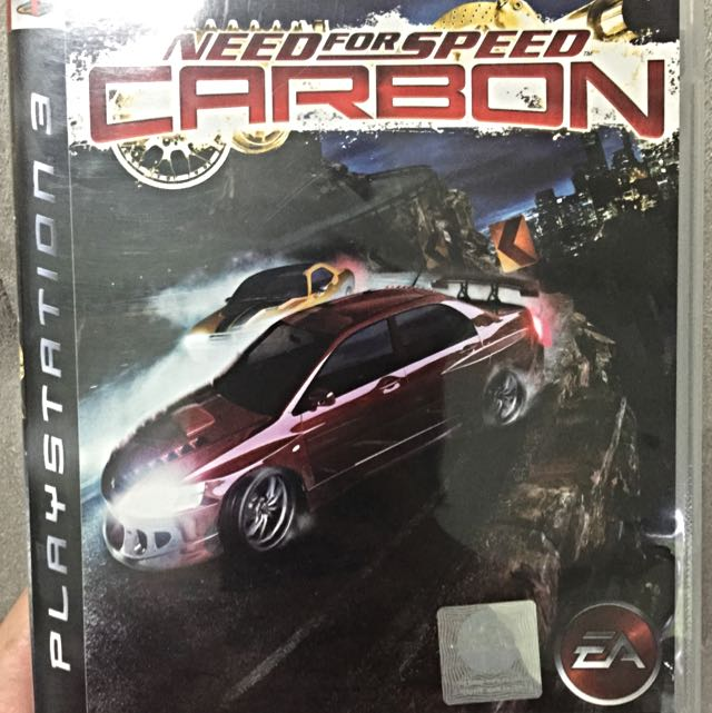 Need for Speed Carbon - PS3 Game, Toys & Games on Carousell