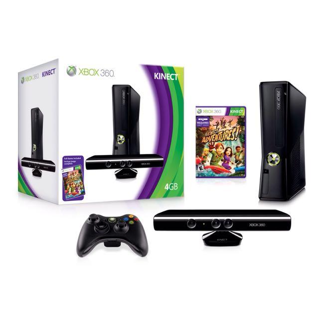 Xbox 360 Kinect 4GB