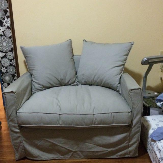 Terrific 1 5 Seater Harnosand Ikea Sofa Furniture On Carousell Interior Design Ideas Jittwwsoteloinfo