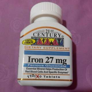 21st Century Iron Tablet / Supplement