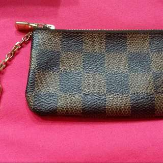 Lv Damier Coin & Key Pouch