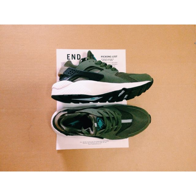 the best attitude 14732 a5ac8 Nike Huaraches (forest green) UK7