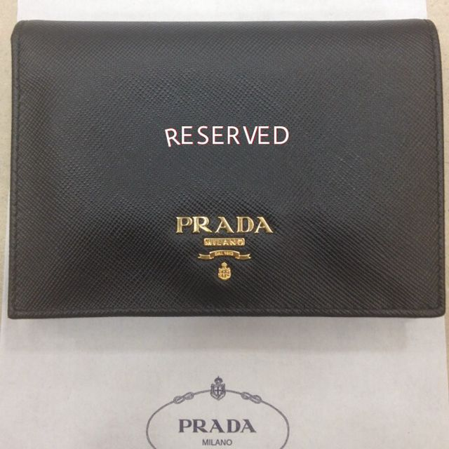 879ce5e06426 Prada wallet 1M0668 Brand New!! RESERVED!!, Women's Fashion on Carousell