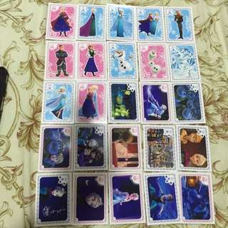 Frozen Collectable Card
