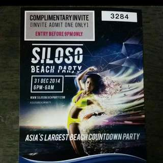 [RESERVED]Siloso Beach Party