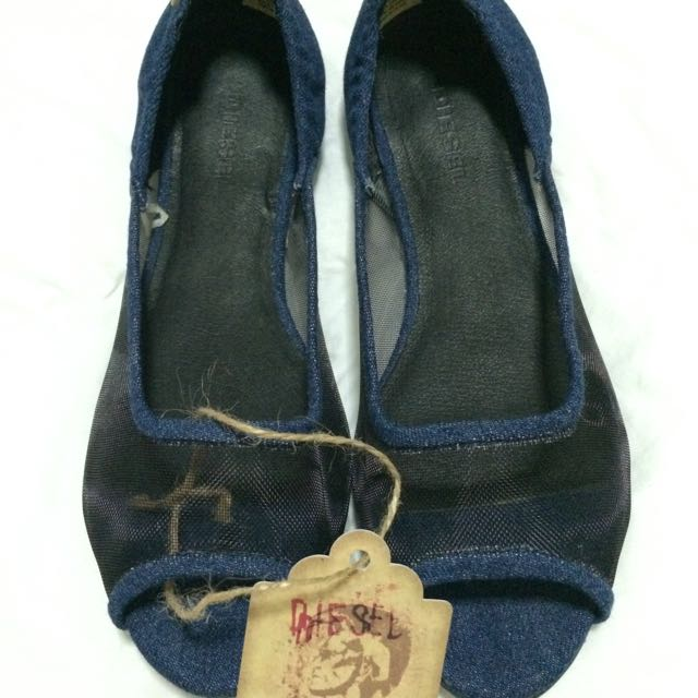 Diesel Ophenia Flats brand new & authentic