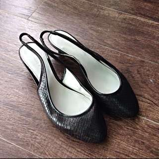 Charles And Keith Kitten Heels Size 38