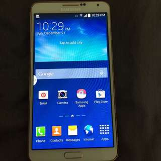 Samsung Note 3 32GB white