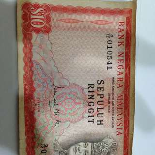 RM 10 Old
