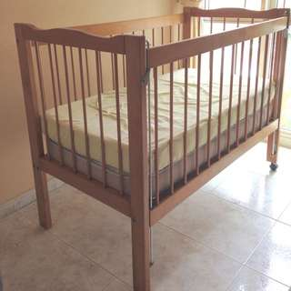Baby Cot (pre-loved) For Sale