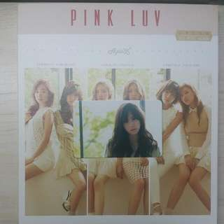 [PENDING] PINK LUV APINK 5TH MINI ALBUM w Park Chorong Photocard
