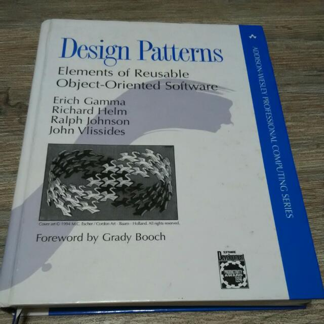 Design Patterns Elements Of Reusable Object Oriented Software Books Stationery On Carousell