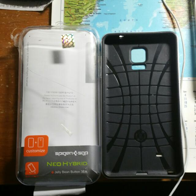 Neo Hybrid For Note 4 Spigen(used, Read Description)price Reduced!! $###