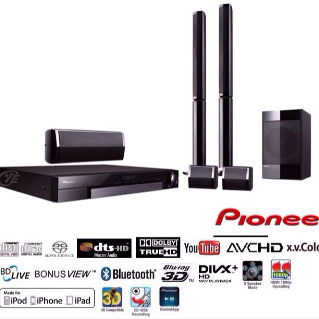 Pioneer 3D Blu-Ray Home Theater System, Furniture on Carousell