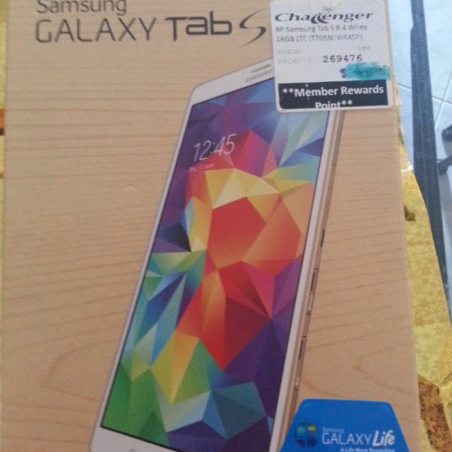 Samsung Galaxy Tab S 8.4 LTE White