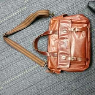 timberland leather bag