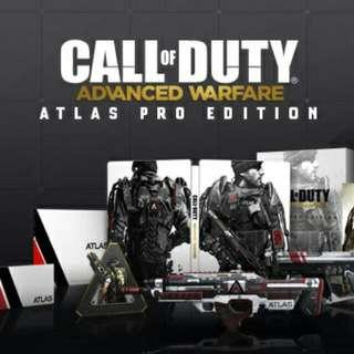 PS4 COD Advanced Warfare Atlas Pro Edition