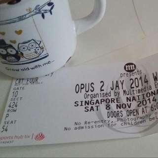 Jay Chou Concert Tickets One Ticket