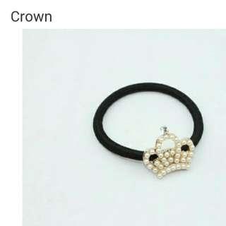 Korean Beads Hairband-Crown