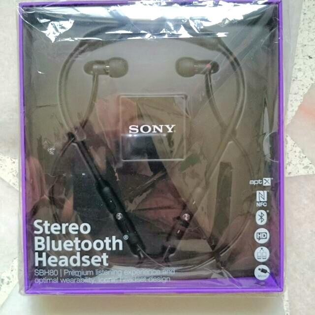 Brand New Sony Xperia Bluetooth Headset.