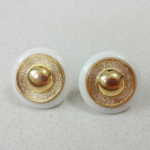 Vintage Classic In Gold Stud Earrings