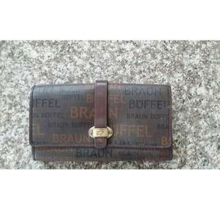 Braun Buffel preowned wallet cash deal once decieed to meet NO BACKING OUT