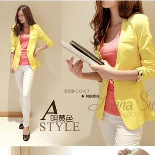 2015 Female Small Suit Jacket