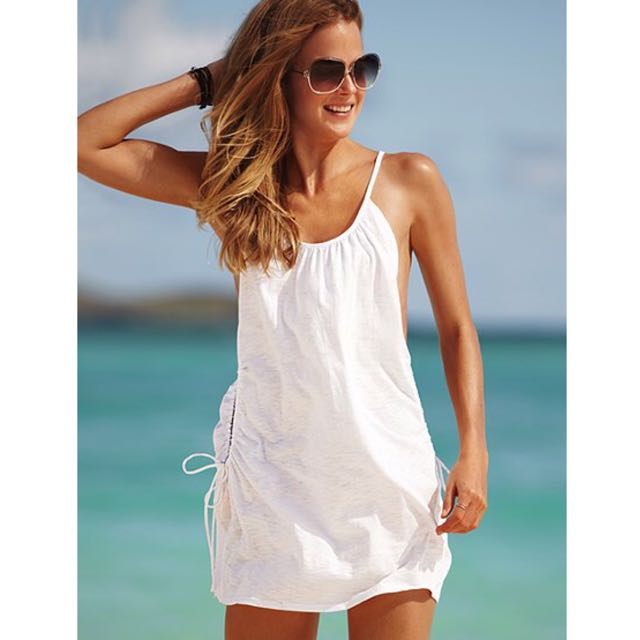 Victoria's Secret Cotton Slub Cover-Up Dress