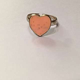 BN Pale Pink Heart Ring