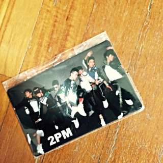 2pm Ezlink Card Sticker