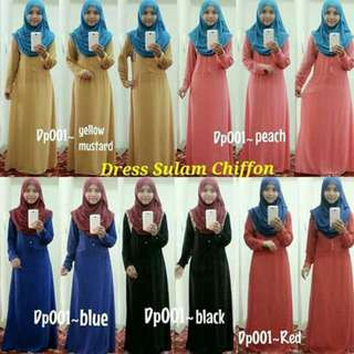 CLEARANCE SALE Jubah DRESS