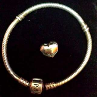 Authentic 17cm Pandora Bracelet