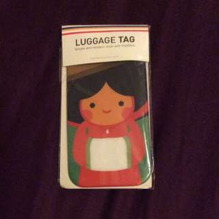 Korea Luggage Tag