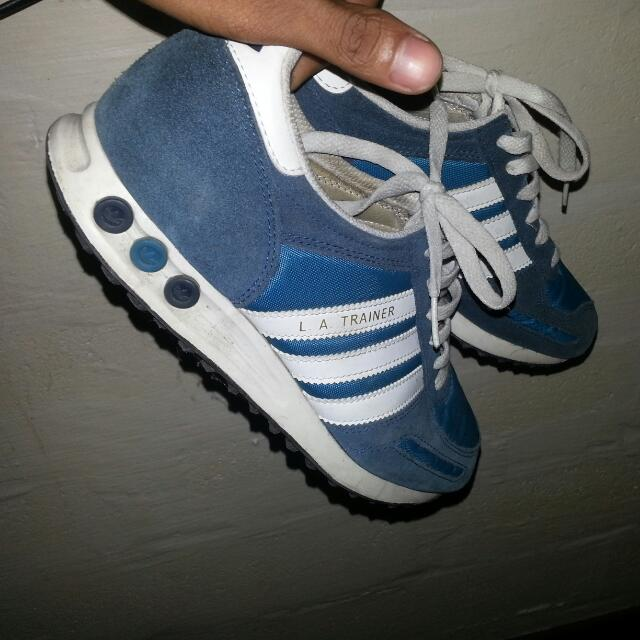 separation shoes d7c17 b12c4 Adidas LA Trainer , Mens Fashion on Carousell