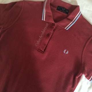 FRED PERRY Collared Tee