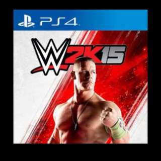 PS4 WWE 2K15